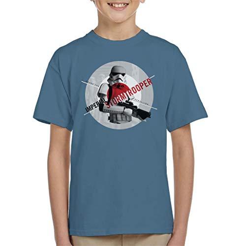 Star Wars Imperial Stormtrooper Crush The Rebellion Kid's T-Shirt