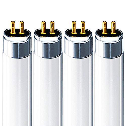 Luxrite LR20831 (4-Pack) F21T5/841 21-Watt 3 FT T5 Fluorescent Tube Light Bulb, Cool White 4100K, 1850 Lumens, G5 Mini Bi-Pin Base