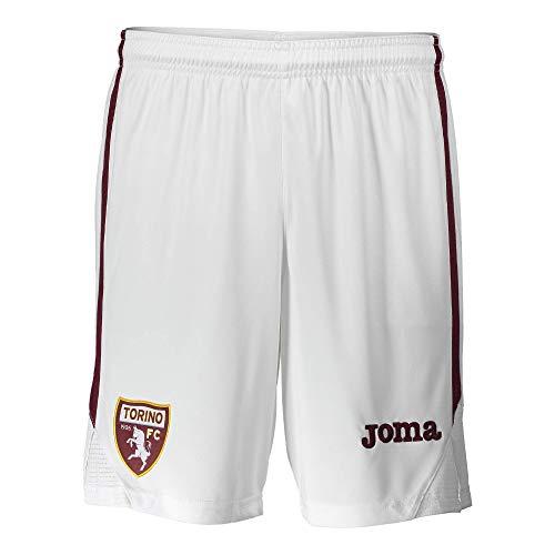 Joma - Pantalón corto oficial Torino 2020-21 blanco