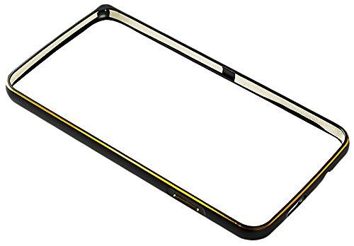 Videotronix Slim Aluminium Metal Bumper Frame for Gionee Elife S5.5 Black