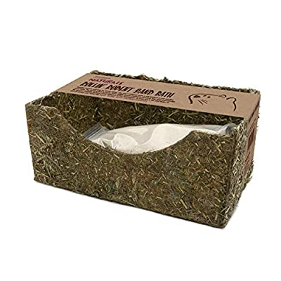Rosewood Naturals Rollin' Rodent Sand Bath For Gerbils, Hamsters And Degus from Rosewood