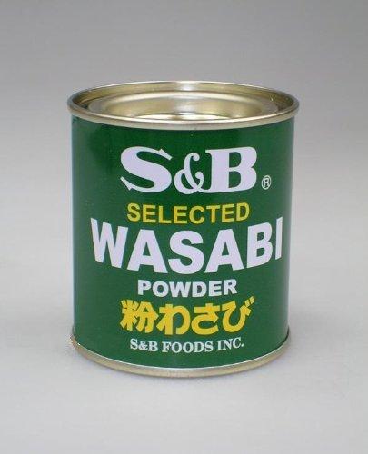 Japanisches Wasabi / Meerrettichpulver - 30g Dose