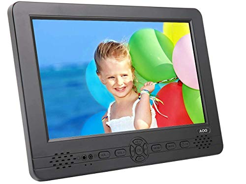 "AG-101 10.1"" Tragbarer HD TV DVB-T2 MPEG4 H.264/H.265/HEVC–LCD Fernseher mit PVR & Multimedia Player"