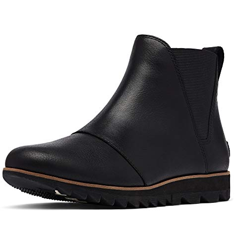 Sorel Women's Harlow Chelsea Boot - Rain - Waterproof - Black - Size 10.5
