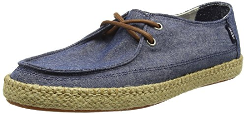 Vans - Rata Vulc ESP, Zapatillas Hombre, Azul (Chambray/Blue), 42 EU