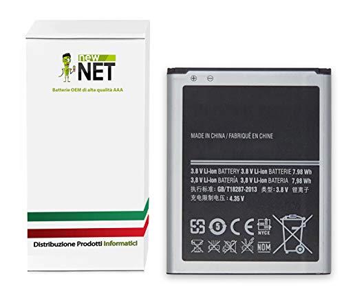 New Net EB535163LU EB535163LA - Batería de repuesto para móvil Samsung Galaxy Grand (GT-i9080) Grand DuoS (GT-i9082) Grand Neo (GT-i9060)