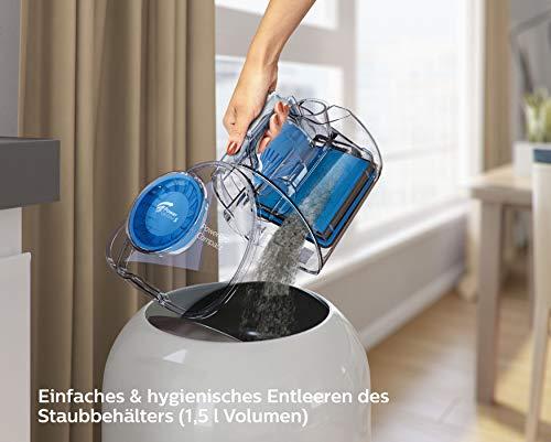 Philips beutelloser Staubsauger PowerPro Bild 5*