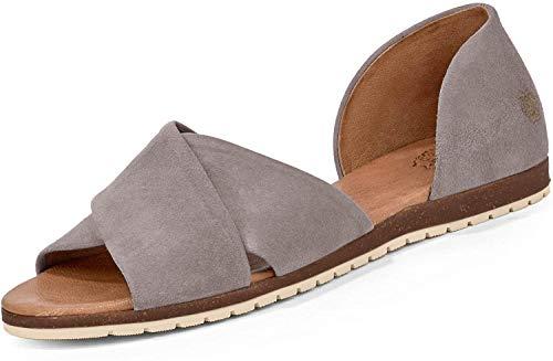 Apple of Eden CHIUSI 12 - Damen Schuhe offene Schuhe - Light-Grey, Größe:39 EU