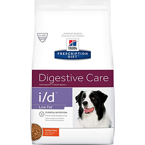 Hill's Prescription Diet i/d Low Fat Digestive Care Chicken Flavor Dry Dog Food, 8.5 Lb Bag