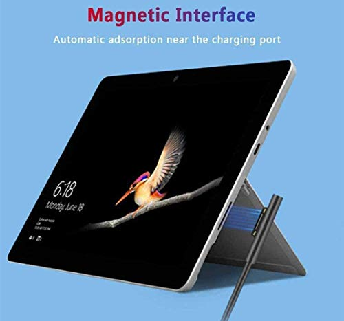 Surface Pro Surface Laptop-Ladegerät 44W 15V 2,58A Netzteil Ladekabel Mobiles Ladegerät - Kompatibel mit Microsoft Surface Pro 6 Pro 5 Pro 4 Pro 3 Surface Laptop Surface Go mit 5V 1A USB-Ladeanschluss