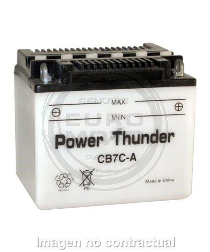 Batería Power Thunder CB7C-A con ácido [0607381P]