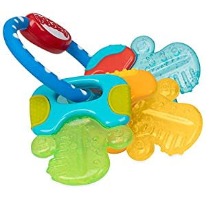 Multi-surface teething makes this teether perfect for assisting in the eruption of front, middle and back teeth When place in the refrigerator Nuby's PurICE technology provides gentle cooling on baby's gums Easy grip design is ideal for little hands ...
