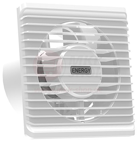 100 mm Silent Extraction Ventilation Fan Standard Bathroom Kitchen Low Energy Consumption