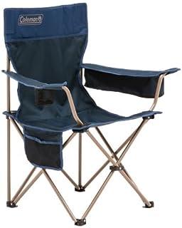 Coleman Quad Rambler Chair, Navy Blue