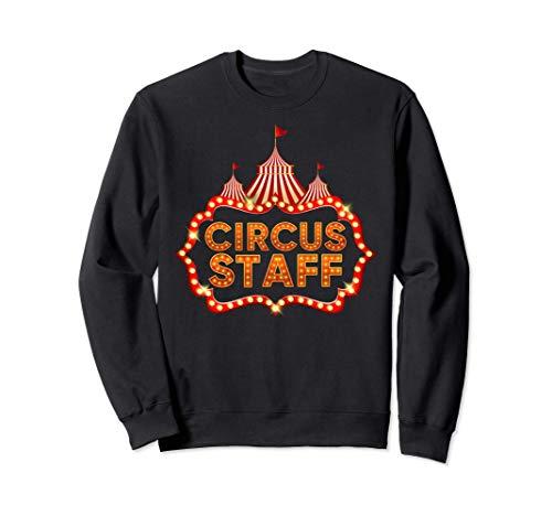 Circus Staff Disfraz Carnaval Personal de Circo Hombre Mujer Sudadera
