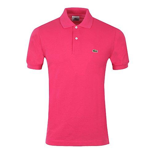 Lacoste L1212, T-Shirt Polo, Uomo, Rosa (Camelia), FR 3