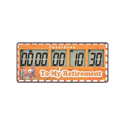 Runleader Digital 9999 Tage Countdown-Timer, Count-up, laute Alarme, Batterie austauschbar, Magnetadsorption, Abschaltung, Ereigniserinnerung