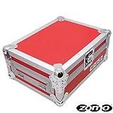 Zomo 0030101603placa maletín PC de 800para 1x CDJ de 800Rojo