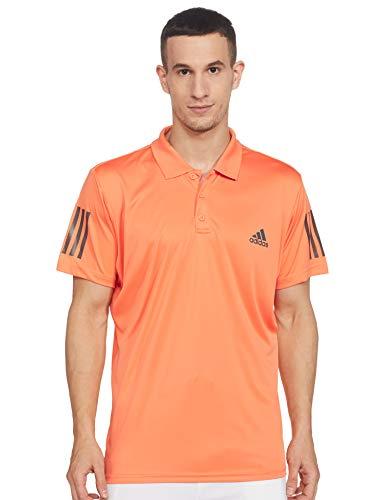 adidas Club 3Str Poloshirt, Herren, Matamb/Grau, S