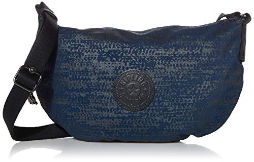 Kipling Women's Emelia Crossbody Bag, Blue Eclipse Print, Small