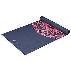 9- Gaiam Print Yoga Mat