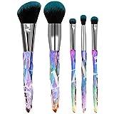 RIsxffp 5/10Pcs Suave Pincel de maquillaje Juego de herramientas de brocha de maquillaje colorete con base de bricolaje BB Cream Blusher 1#