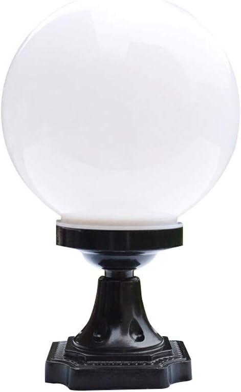 GPPZM Ball Shape 2021 spring and summer new Max 65% OFF Outdoor Pillar Porc Verlichting Lamp Waterproof