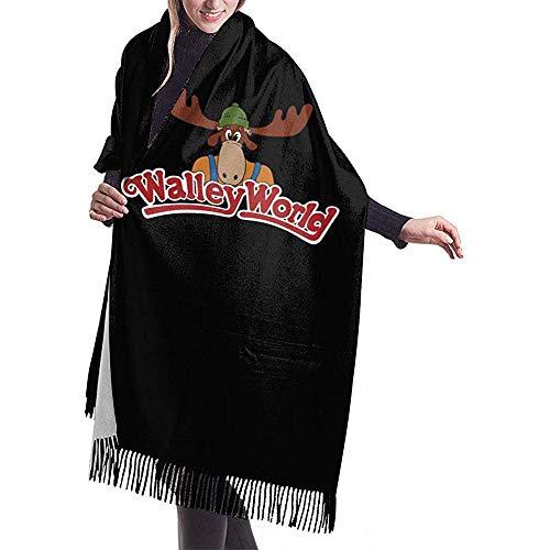 Laglacefond Wally World Women sjaal sjaal winter wikkelkop sjaals