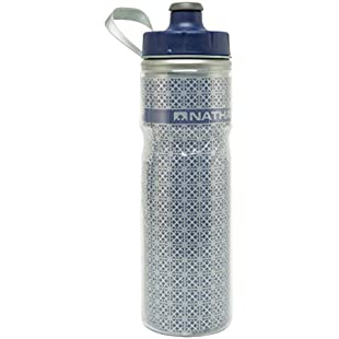 Nathan Fire and Ice Water bottle - Estate Blue, 600 ml