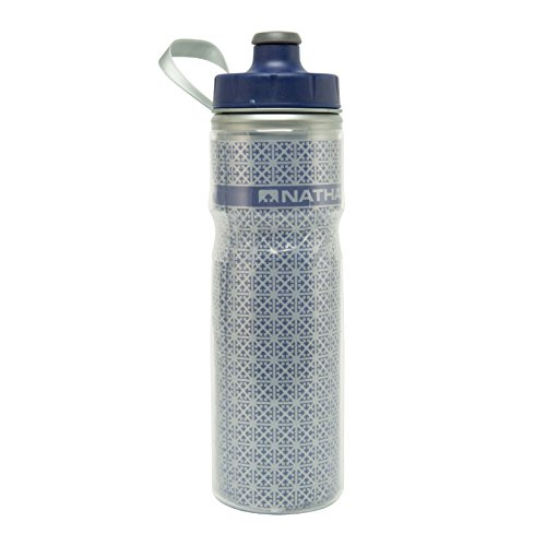 Nathan Fire and Ice - Cantimplora, Color Azul, Talla 600 ml