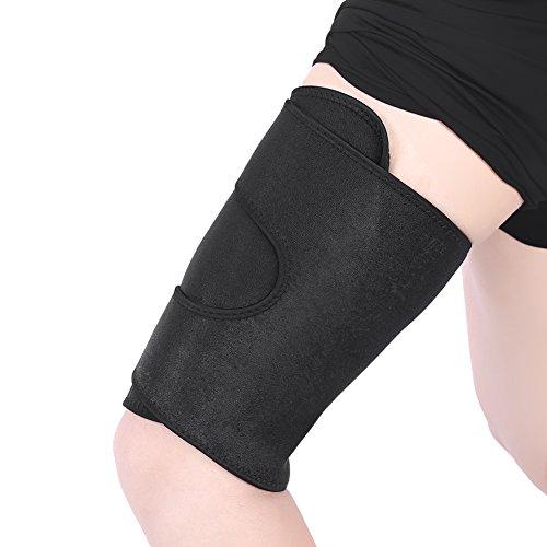 Oberschenkel Bandage, Oberschenkelbandage Kompression,oberschenkel bandage mit klettverschluss und rutschfester Gurt für Oberschenkel und Ischiasnerven Schmerzlinderung
