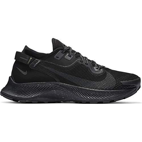 Nike Pegasus Trail 2 GTX, Zapatos para BEB Mujer, Black Iron Grey Mtlc Dark Grey, 42.5 EU