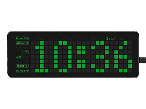 Elektronische Uhr für Raspberry Pi Pico, LED-Ziffernanzeige, Integrierter Hochpräziser RTC Chip DS3231, Unterstützung für Mehrere Funktionen, Open Source, Programmierbar und Studienhilflich