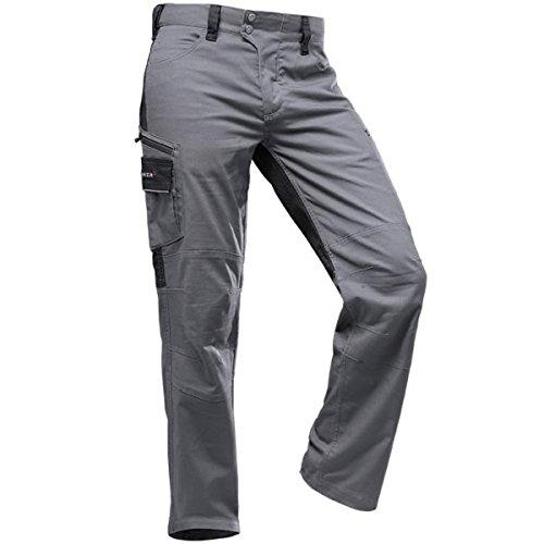 Pfanner StretchFlex Canfull Arbeitshose 107055, Größe:48, Farbe:grau/schwarz