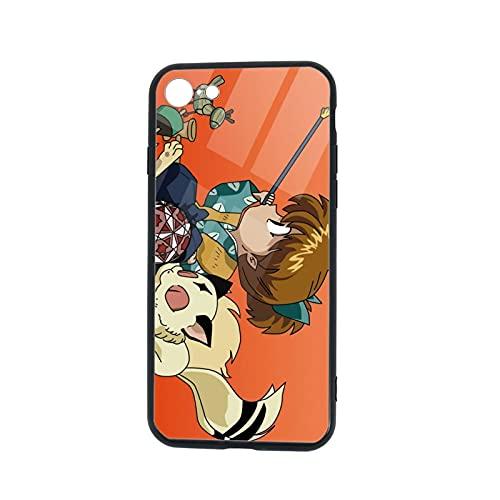 Inuyasha - Carcasa para iPhone 7/8, diseño de iPhone 7 y iPhone 8, TPU de goma para teléfono