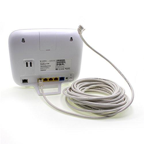 1aTTack.de Cat6 0,5m weiß 5 Stück Netzwerkkabel Patchkabel Cat6 LAN Kabel 1000 Mbits Ethernet LAN weiß 5 Stück kompatibel mit CAT5 cat5e CAT7 CAT8