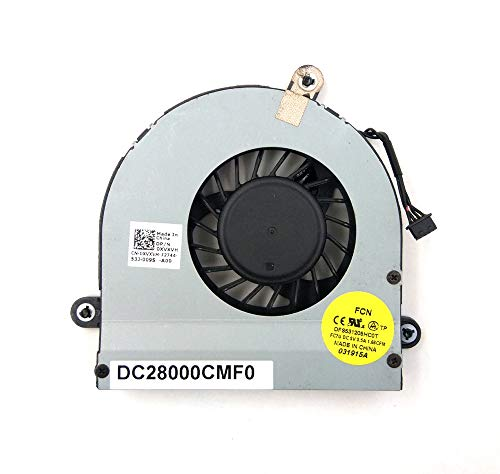 LPH Ventilador de CPU de repuesto para Dell Dell Alienware M17X R3...