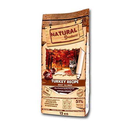 Natural Greatness Turkey Recipe Alimento Seco Completo