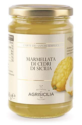 Agrisicilia Marmellata di Cedri Sicilia, 360 Grammi