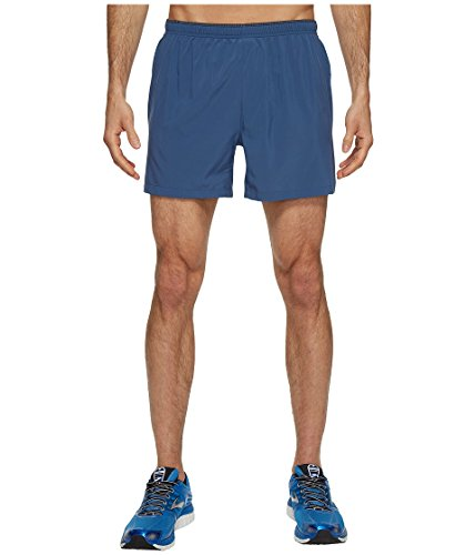 Brooks Short de Course Sherpa 5 Short Short de Course Gris ou Bleu M Bleu