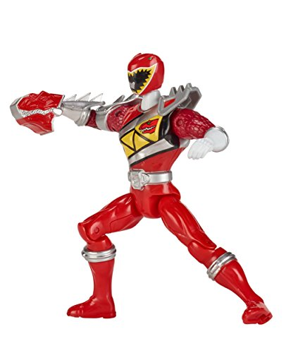 Power Rangers Dino Super Charge - 5' Dino Steel Red Ranger Action Figure