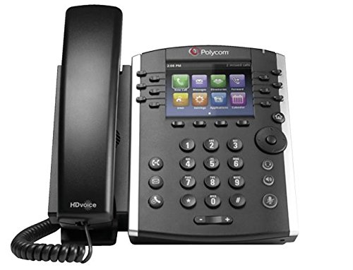 POLYCOM VVX 410 12-line Desktop Phone Gigabit Ethernet w/o PSU MSFT Skype for Business Edition