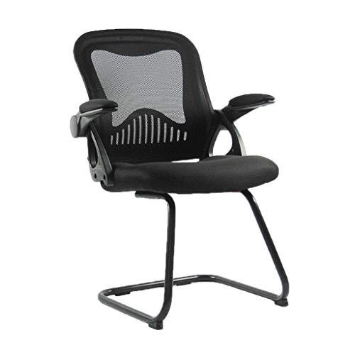 ChenB ontvangststoel, slijtvast, stoel voor studenten, slaapzak, multifunctionele stoel, computerstoel, meer comfort Zwart