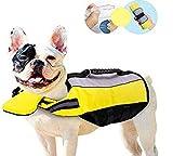 Chaleco salvavidas para perro, plegable, portátil, airbag para perro, chaleco de natación para...