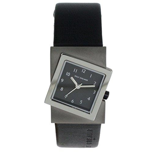 Rolf Cremer Turn 491815 Unisex Armbanduhr schwarz