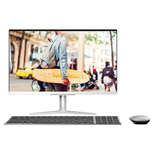 MEDION E23403 60,5 cm (23,8 Zoll) Full HD All in One Desktop Computer (Intel Core i3-1005G1, 8GB DDR4 RAM, 256 PCIe SSD, WLAN, Win 10 Home)