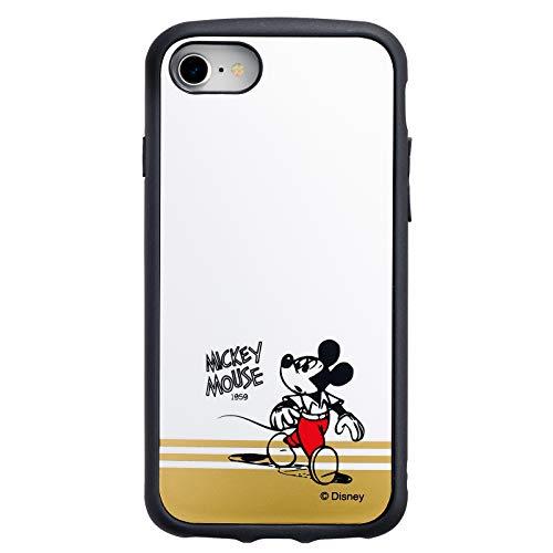 iDress IJOYディズニー 360°衝撃吸収 iPhoneケース iPhone8/7/6s/6 ミッキーマウス ホワイト i32DDN20