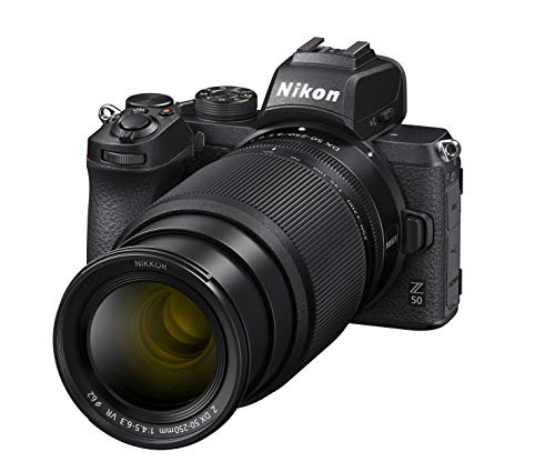 Nikon Z 50 KIT DX 16-50 mm 1:3.5-6.3 VR + DX 50-250 mm 1:4.5-6.3 VR Kamera