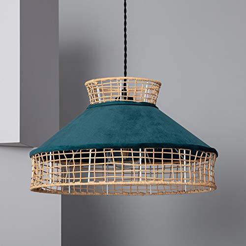 LEDKIA LIGHTING Lámpara Colgante Qashinka Azul