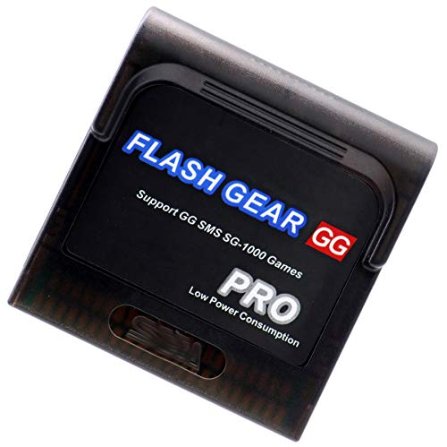 Deal4GO Flash Cart Game Cartridge Card with Shell Case w/Micro SD Card Replacement for Sega Game Gear